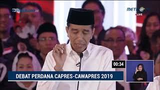 Debat Pilpres 2019 Part 7 - Jokowi Tanya ke Prabowo Soal Eks Napi Koruptor Jadi Caleg Gerindra MP3