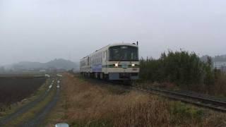 2007.3.31で廃止なった鹿島鉄道 2007.3.25.