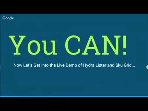 Live Hydra Lister & Sku Grid Demo   How Does it Work?