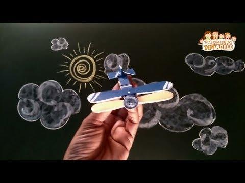How to make Wooden Clip Aeroplane - A Wooden Clip Aeroplane DIY