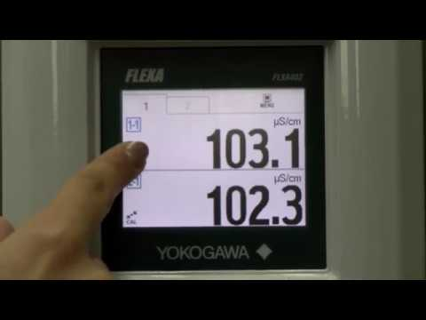 Procedure Of Configuration And Calibration The Conductivity Meter FLXA402