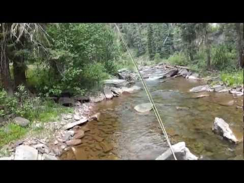 Fishing Durango / Hermosa Creek Trailhead - GoPro HD Hero2