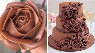 Most Satisfying Chocolate Cake Decorating Ideas  Yummy Chocolate Cake Recipe  Tasty Cake