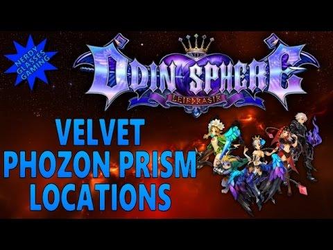 Odin Sphere Leifthrasir - Velvet Phozon Prism Locations (PS4 Gameplay)