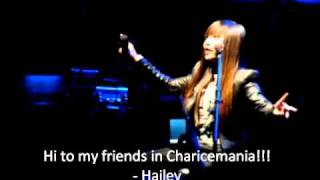 Charice sings Jingle Bell Rock while sitting - December 8, 2010