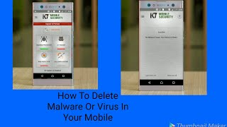 How to delete virus in your mobile|| Monik