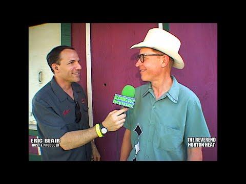 The Reverend Horton Heat & Eric Blair talk Stevie Ray Vaughan @ Hoot 2004