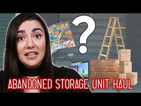 I Bought An Abandoned Storage Unit