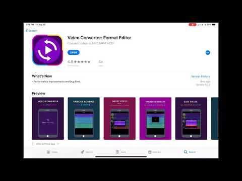 Video Converter: Format Editor (Handbrake Alternative for iOS)