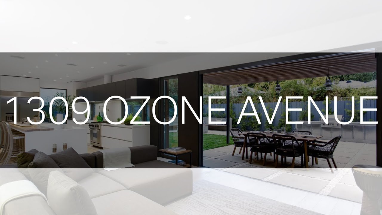 Elegant And Modern In Prime Silicon Beach: 1309 Ozone Avenue, Santa Monica,  CA 90405