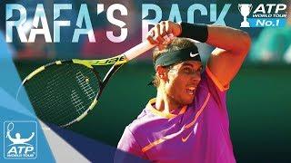 Rafael Nadal Is Back On Top In Monte Carlo