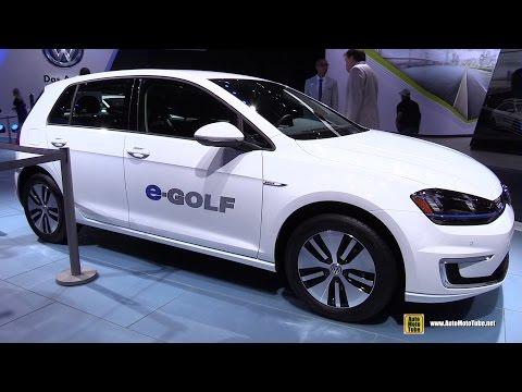 2015 Volkswagen e-Golf - Exterior and Interior Walkaround - 2015 Detroit Auto Show