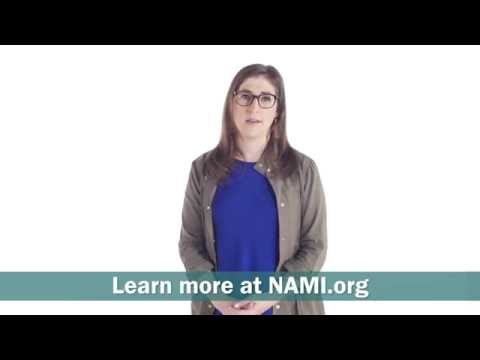 Mayim Bialik talks about why she turned to NAMI.