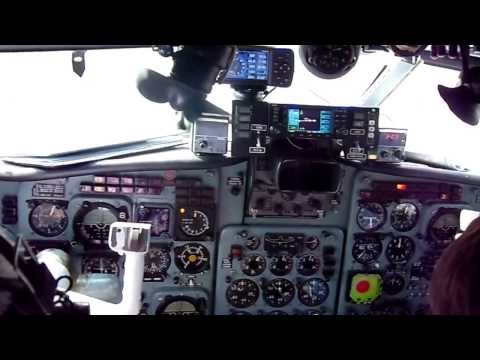 Yak-40 take off