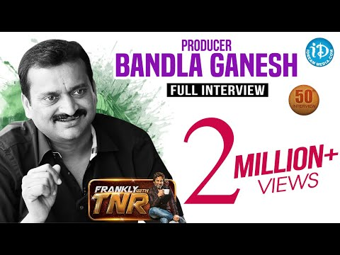 Bandla Ganesh Exclusive Interview || Frankly With TNR 50th Interview || Talking Movies #296
