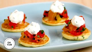 Download Mp3 How To Make Mini Pancake Appetizers!