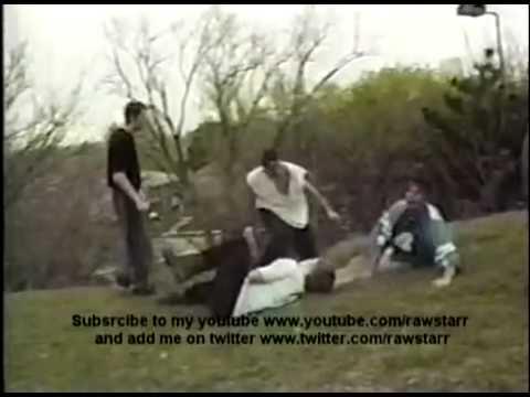 Extreme 3-way tag team match backyard wrestling in GZWA ...