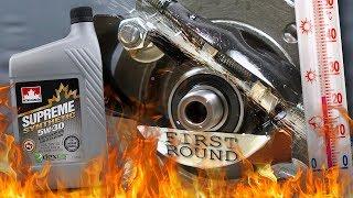 Petro canada Supreme Synthetic 5W30 Jak skutecznie olej chroni silnik? 100°C