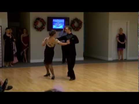 American Tango Show Dance At Ultimate Ballroom Dance Studio In Memphis
