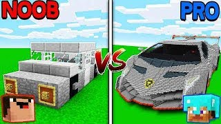 Minecraft NOOB vs. PRO: CARS in Minecraft!