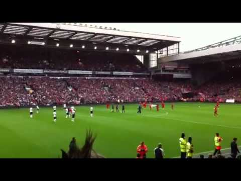Liverpool vs Manchester United Hillsborough Tributes 23/09/2012