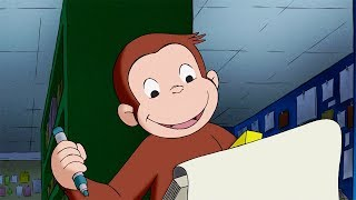 Curious George 🐵 Train of Light 🐵 Kids Cartoon 🐵 Kids Movies 🐵 Cartoons for Kids