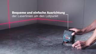 Smart nivellieren - Bosch Kombilaser GCL 2-50 C Professional