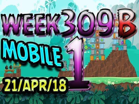 Angry Birds Friends Tournament Level 1 Week 309-B PC Highscore POWER-UP walkthrough
