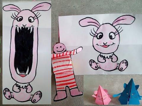3 Basteltipps Gegen Langeweile Bewegliche Spielzeuge Aus Papier