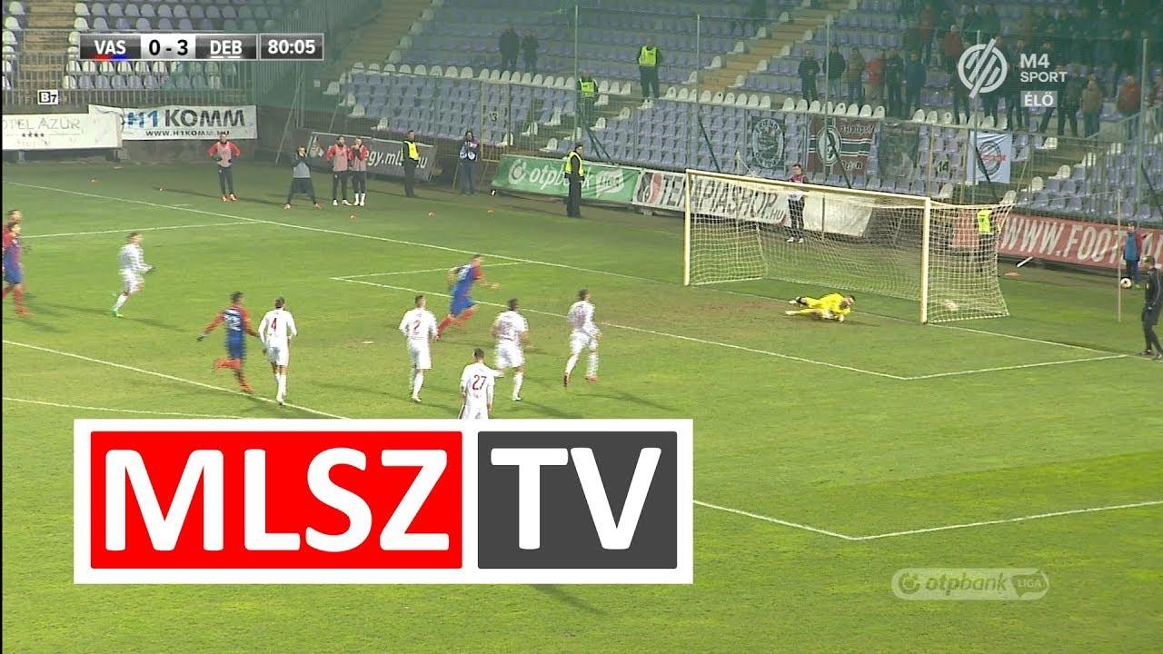 Ádám Martin gólja a Vasas FC - DVSC mérkőzésen