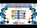 Jadwal Bola Malam ini ~ 31 Juli 2021 | Brazil vs Mesir | Olimpiade Tokyo 2021