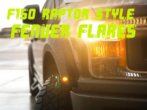 Best Raptor Style Fender Flares for a 2018-2019 F150?