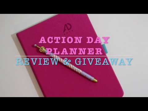 Action Day Planner Overview & Giveaway