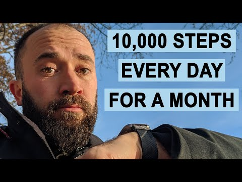 We Tried Getting 10000 Steps Every Day for a Month, Here's What Happened