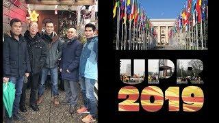 PHÓNG SỰ CỘNG ĐỒNG: Kêu gọi biểu tình tại Genève, Thụy Sĩ nhân dịp UPR về Việt Nam ngày 22/1/2019