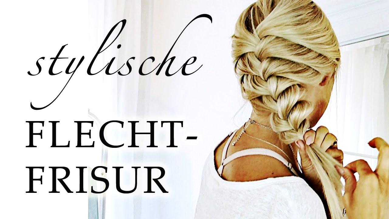 ZOPF FRISUR Selber Machen Haare FLECHTEN Für ANFÄNGER Schule