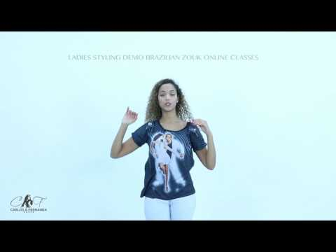 FREE LADIES STYLING  LEVEL 1  -  VIDEO PROMO BY BRAZILIAN ZOUK ONLINE CLASSES