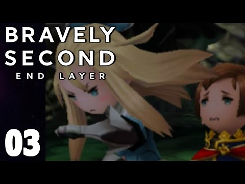 Bravely Second End Layer Part 3 EDEA! Walkthrough Gameplay