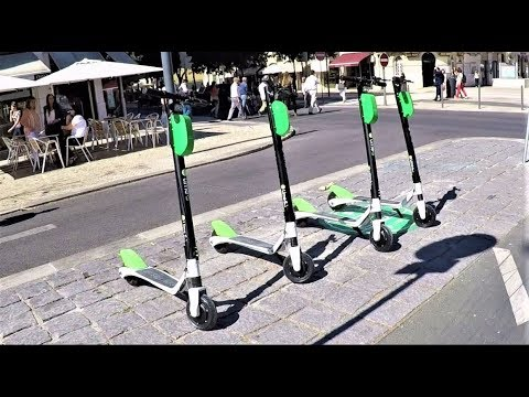 Lime Electric Scooter In Lisbon #Review