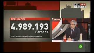 """Gaspar Llamazares: """"El Gobierno se mantiene de forma fanática en la misma política"""" (06.05.2013)"""