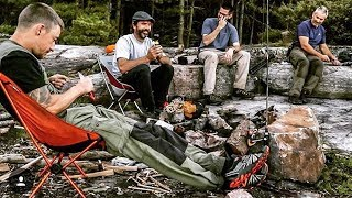Camping: Joe Robinet, My Self Reliance & Doug Outside