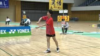可児 駿弥(名経大市邨・愛知県) vs 西野 勝志(新田・愛媛県) 全国高校選抜2015