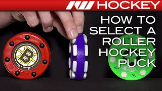 How To Select A Roller Hockey Puck
