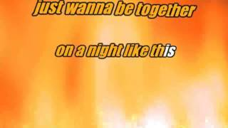 Kylie minogue on a night like this lyrics