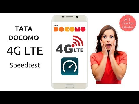 Tata Docomo 4G LTE Speedtest | Amazing Results | Must Watch | AT Creator Studio