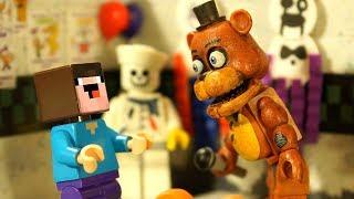 Лего Пять Ночей с Фредди и Бейблэйд Бёрст - Лего НУБик Мультики Майнкрафт и ФНАФ - FNAF Minecraft