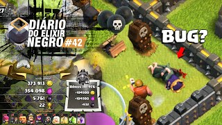 DIÁRIO do ELIXIR NEGRO #42 - UPANDO RAINHA ARQUEIRA Nv 29 e o BUG FAIL NO CLASH OF CLANS