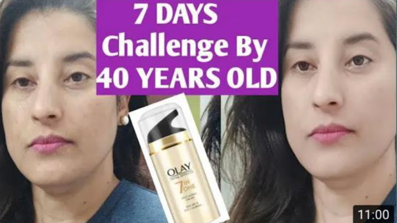 7 Day Skincare Challenge With Olay Total Effects 7 In 1 Day Cream