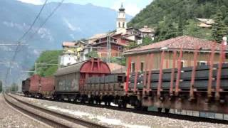 Ein Tag wahrer Eisenbahnkunst! / Una giornata di pura follia ferroviaria! SERRAVALLE ALL