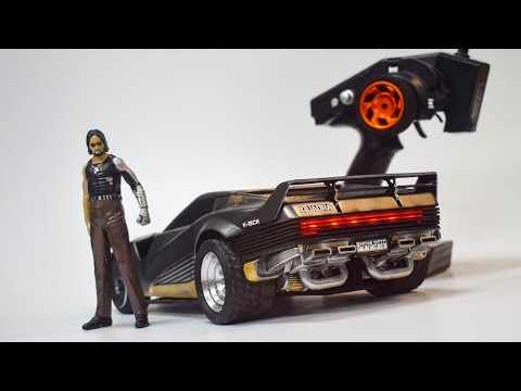 R/C QUADRA V-TECH FROM CYBERPUNK 2077 HOW TO MAKE